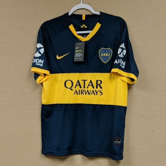new style 4b5ed bc476 Boca Juniors Home Jersey NWT